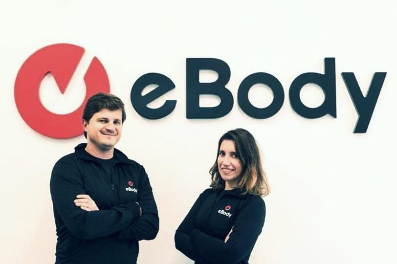 Ana e Marco 1ºs franchisados da marca eBody