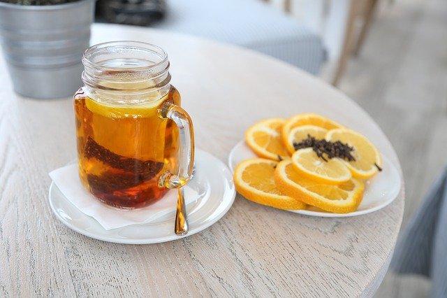 Chá de limão