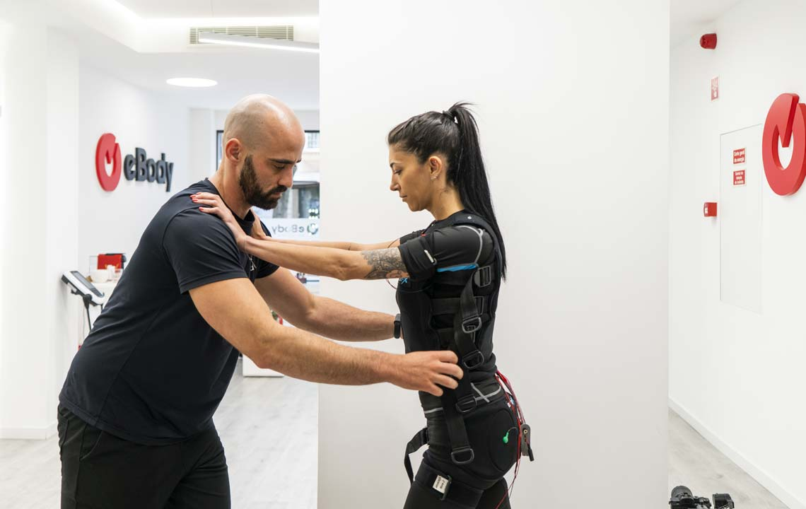 Treino EMS com Personal Trainer